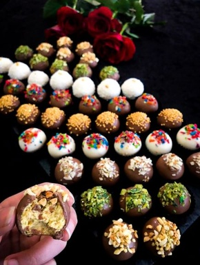 Standard Decorated Burfee Truffles